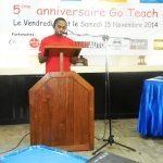 5ème anniversaire GoTeach-2014