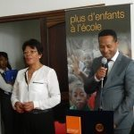 Signature de convention: Fondation Orange Solidarité – 2015